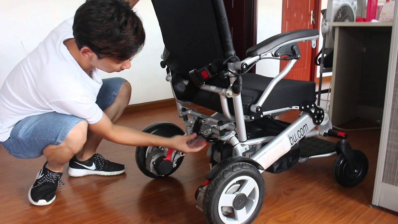 power wheelchair 1 second open lightweight foldable