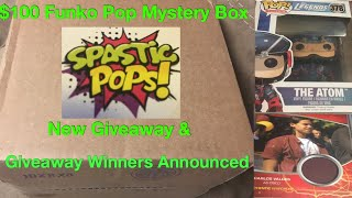 $100 Funko Pop Mystery Box + New Giveaway & Winners Announced