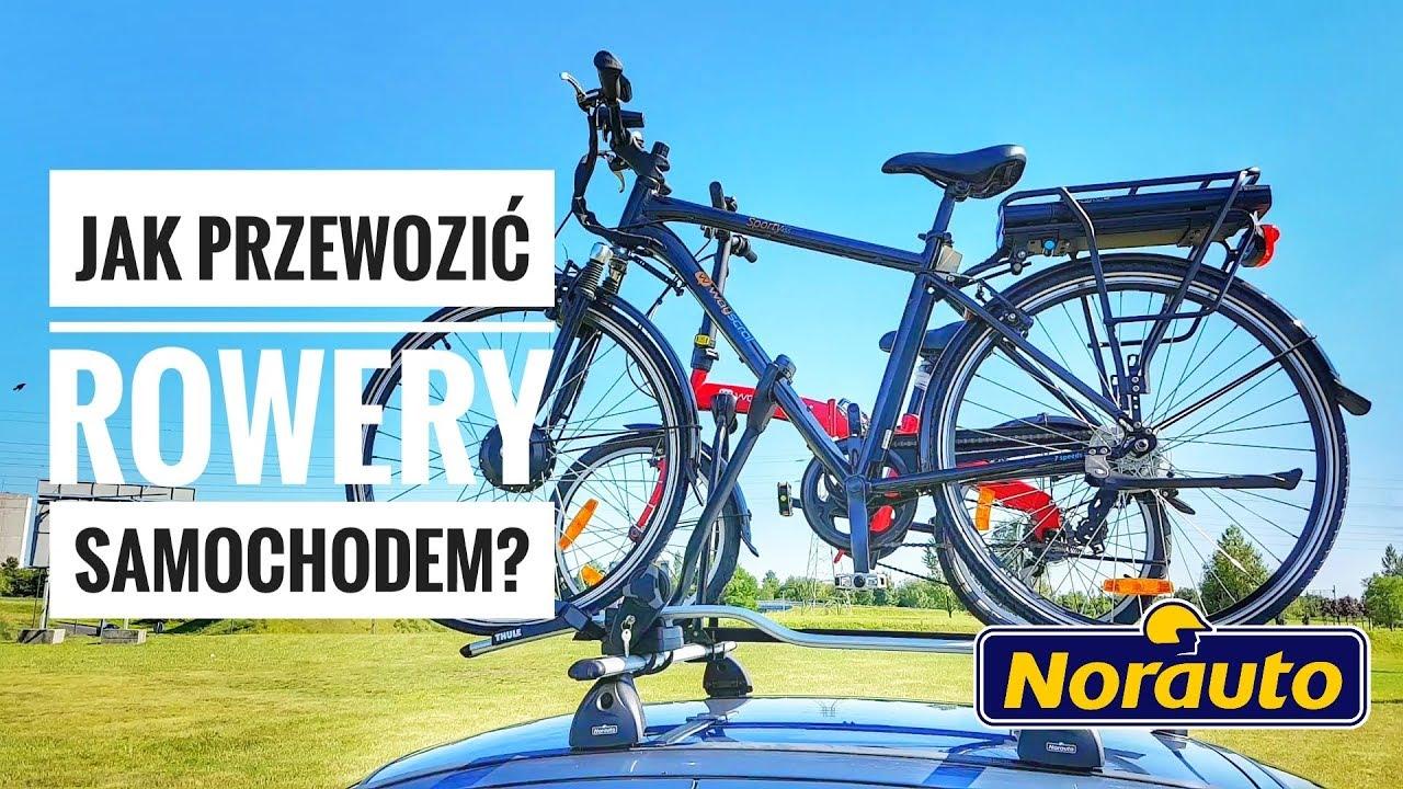 Jak Przewozić Rowery Samochodem ? Bagażniki Rowerowe