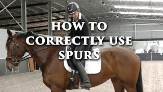 HOW TO CORRECTLY UŠE SPURS - Dressage Mastery TV Episode 116