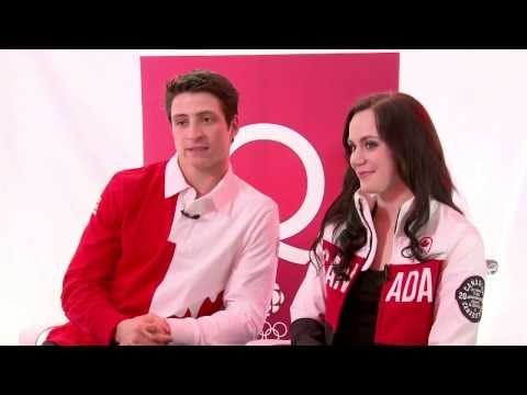 Sochi 2014  - Tessa Virtue and Scott Moir's Interview with Jian Ghomeshi [HD]