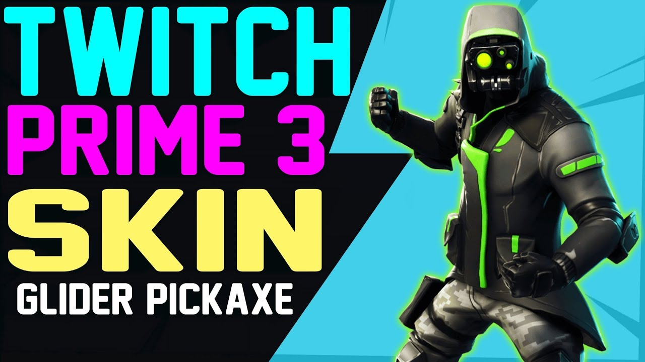Fortnite TWITCH PRIME PACK 3 ARCHETYPE SET LEAKED Skin ...