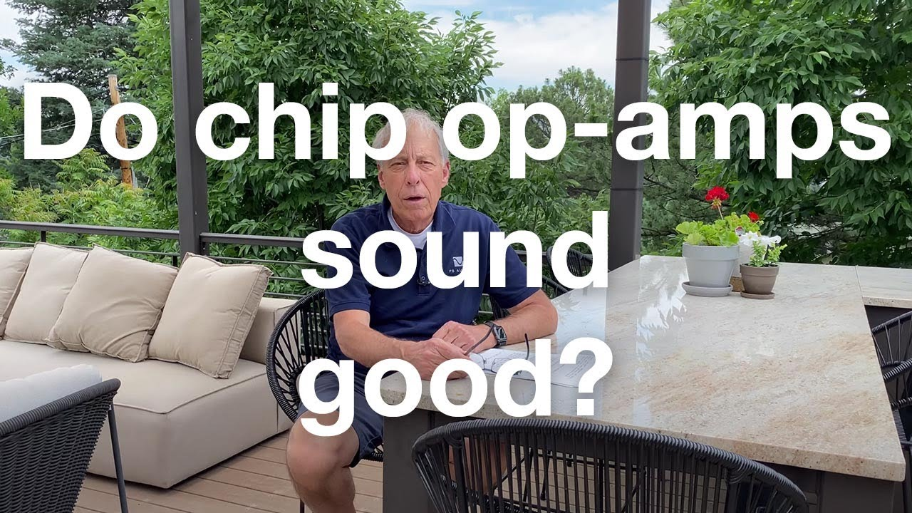 Do chip op amps sound good?