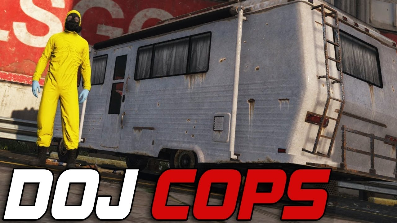 Dept. of Justice Cops #242 - Breaking Bad (Criminal)