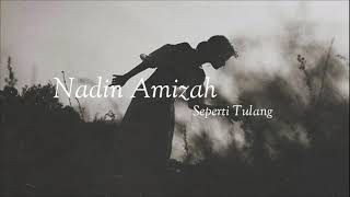 Gambar cover Nadin Amizah - Seperti Tulang (Unofficial Lirik Video)