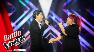 บอสส์ VS แต้ว -I Just Can't Stop Loving You - Battle - The Voice Thailand 2018 - 4 Feb 2019