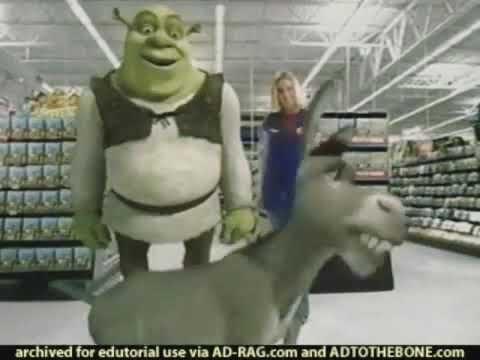 Shrek 2 Walmart Exclusive Dvd Commercial Youtube