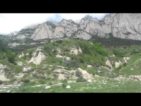 Поездка в Цейское ущелье ( с проездом туннеля)