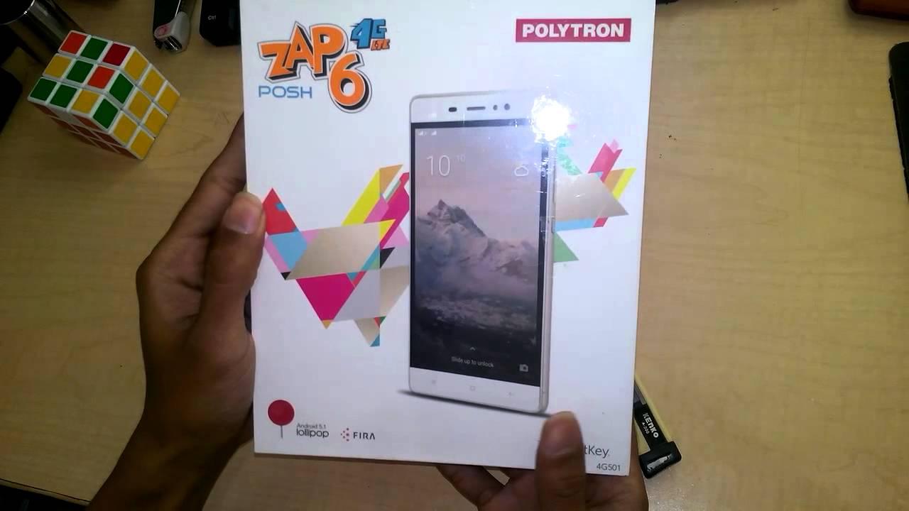 Unbox Polytron Zap 6 Posh 4g501 Youtube