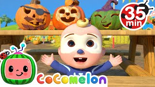 Pumpkin Time Song + More Nursery Rhymes & Kids Songs - CoComelon - music to nap too