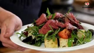 салат с ростбифом от шеф-повара Руслана Кулика