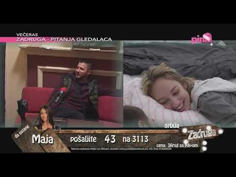 Zadruga 2 - Radio Amnezija: Marko priča o Luni - 16.01.2019.