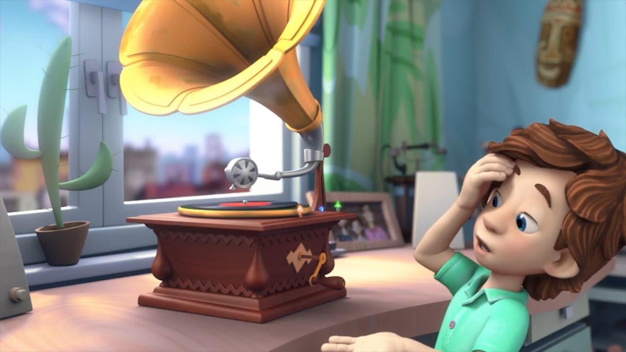 Фиксики - Граммофон | Познавательные мультики для детей, школьников