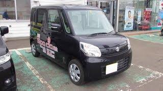 2013 New Suzuki Spacia - Exterior & Interior