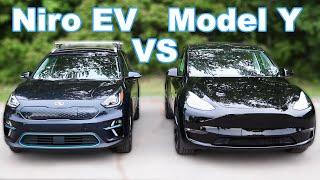 Tesla Model Y vs Kia Niro EV