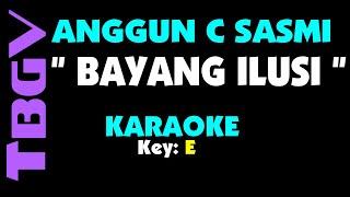 Anggun C Sasmi - BAYANG ILUSI. Karaoke.