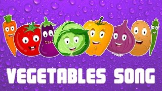 Vegetables We Love You | Vegetable Song