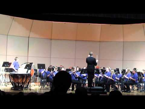 Three Rivers Middle School 8th Grade Band song one
