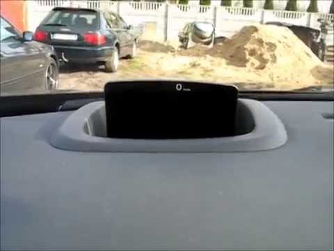 new peugeot 508 2014 head up display - youtube