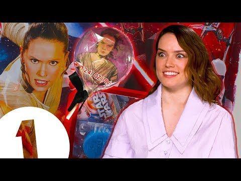 """I don't wanna be in someone's mouth!"": Daisy Ridley on her Star Wars lollipops"