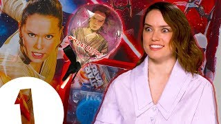 """""""I don't wanna be in someone's mouth!"""": Daisy Ridley on her Star Wars lollipops"""