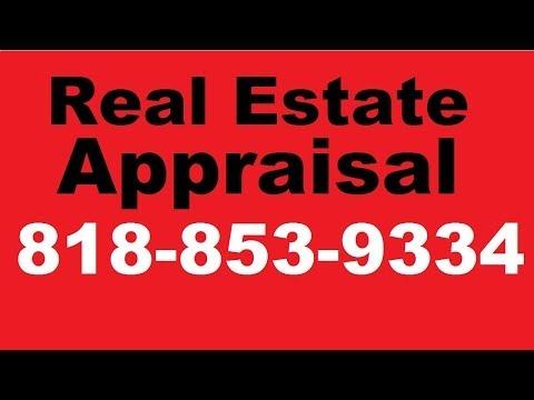 San Fernando Valley Appraisal | Appraiser  818-853-9334