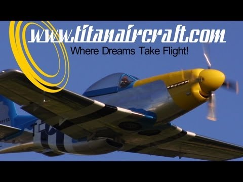 Titan Aircraft, Titan T51, Titan Tornado, Titan Tornado II experimental light sport aircraft.
