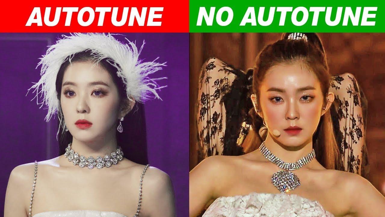 Kpop Idols Autotune Vs No Autotune Mv Vs Live Part 5 Youtube