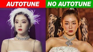 KPOP IDOLS AUTOTUNE VS NO AUTOTUNE (MV vs LIVE!) PART 5