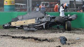 Авария Фернандо Алонсо. Гран При Австралии 2016 / Alonso accident