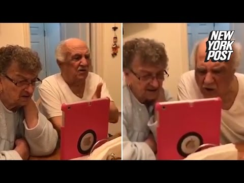 This girl's video call with her grandparents was a huge mistake