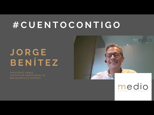 JORGE BENÍTEZ PRESIDENTE DE AEMES_ASOCIACION EMPRESARIAL DE MEDIADORES DE SEGUROS