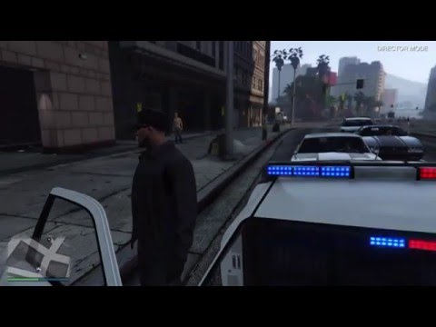 How to be a cop/police officer in GTA 5! (PS4/Xbox One) Updated method in description!