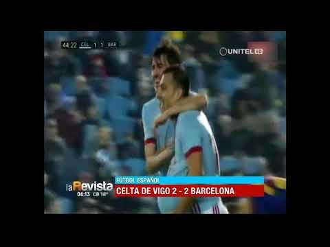 Fútbol español: Celta de Vigo 2 – 2 Barcelona