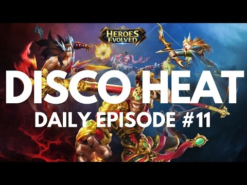 DISCO HEAT - LoL CLONE (HEROES EVOLVED)