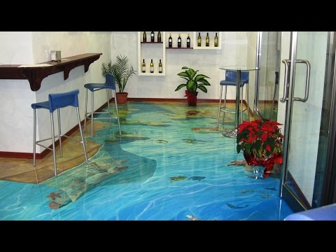 Top 8 of the Coolest 3D Floors Created with Epoxy