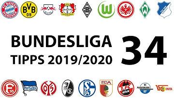 Bundesligatipps 34.Spieltag 2019/2020