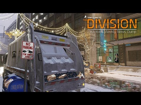Tom Clancy's The Division - 21Kilotons Weekly News Dump 11th August 2017