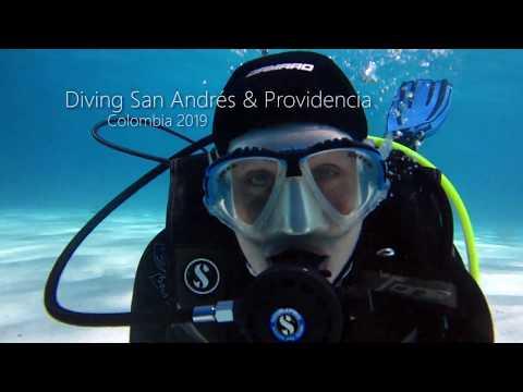 Diving San Andrés & Providencia - Colombia 2019