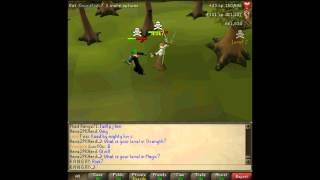 R A N G RY PK Vid #11 Melee/Ranging/Maxed Pure Domination world 136.