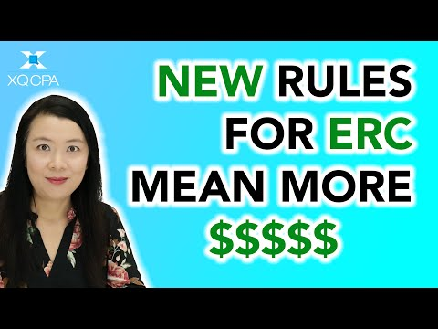 New Rules For ERC! More Money!