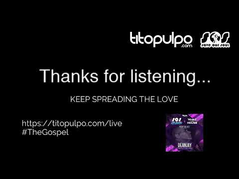 Tito Pulpo - deep soulful house DJ Live Stream