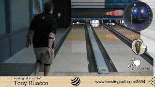 Brunswick C-System 4.5 Bowling Ball Reaction Video