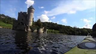 Balade en kayak sur la Loire, le château de la Roche.
