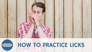 How to Practice Licks on Harmonica - Blues Harmonica Licks