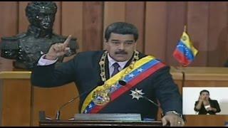 بالفيديو..رئيس فنزويلا يهاجم أوباما ويتهم كولومبيا بتهريب الوقود