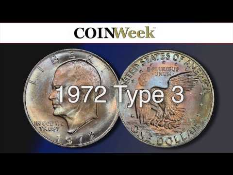 CoinWeek: The Three Types Of 1972 Eisenhower Dollar - Video: 6:06.