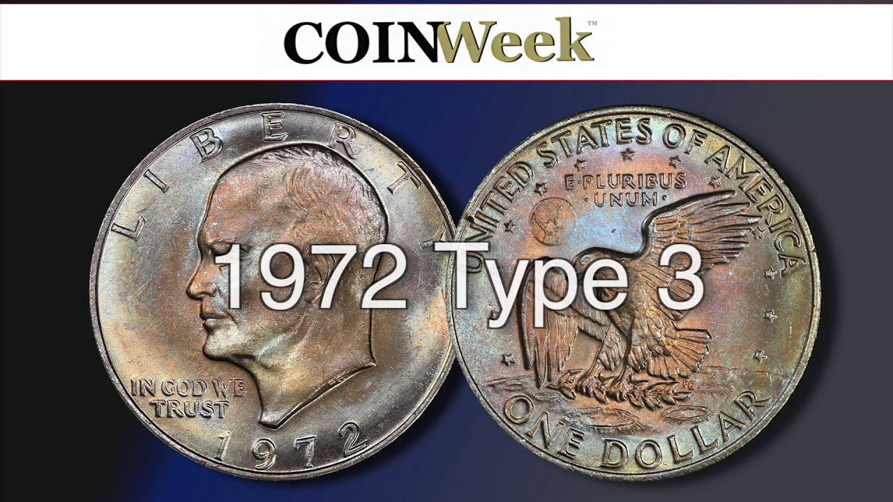 1972 Silver Dollar No Mint Mark - Desain Terbaru Rumah