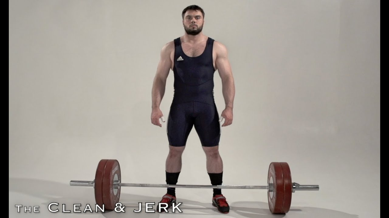 CLEAN & JERK / Olympic weightlifting - YouTube