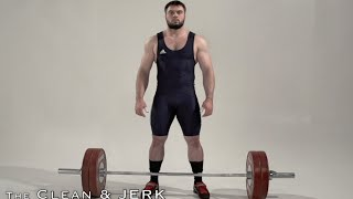 CLEAN and JERK / Olyṁpic weightlifting and crossfit